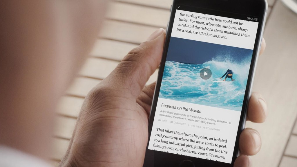 Instant Articles video